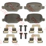 BRAKE PAD SET REAR [TRW]