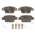 ALFA ROMEO MITO BRAKE PAD SET REAR [TRW]