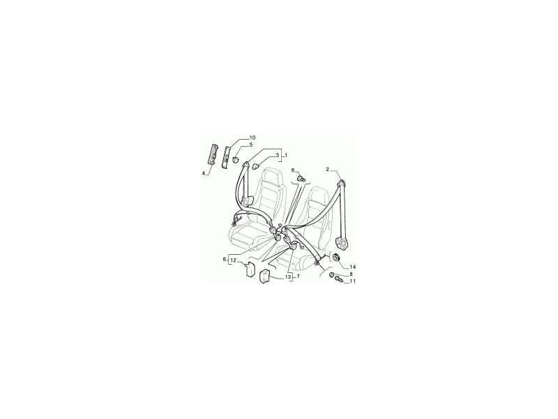 O/S SEAT BELT