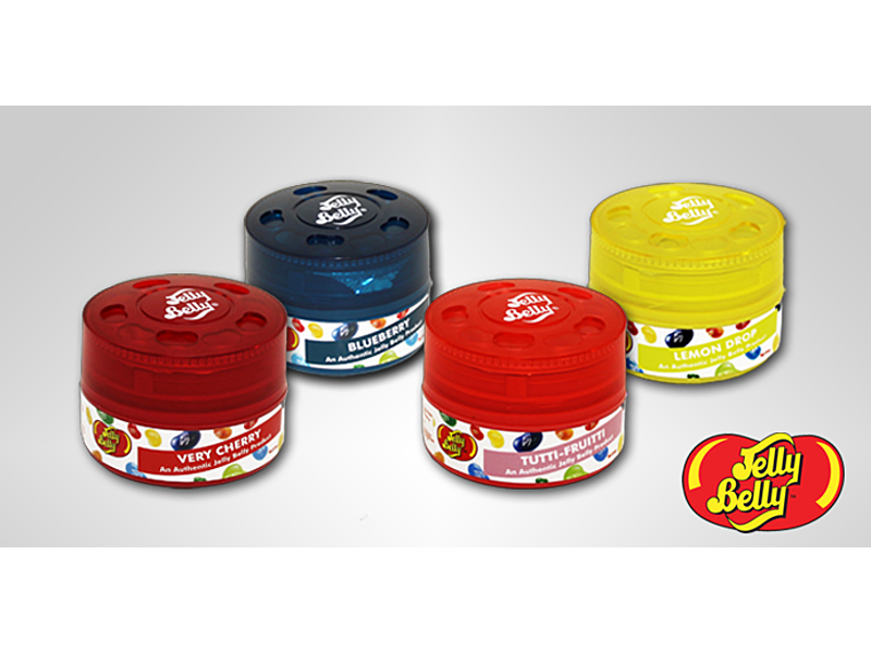 JELLY BELLY CAN AIR FRESHNERS BLUEBERRY