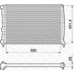 ALFA ROMEO 147 2.0 16V TWIN SPARK RADIATOR